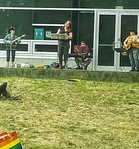 August Pop Up Pride at Trout Lake with Bushy Park music